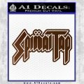 Spinal Tap Band Decal Sticker Brown Vinyl 120x120