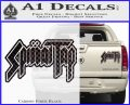 Spinal Tap Band Decal Sticker Carbon Fiber Black 120x97