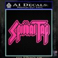 Spinal Tap Band Decal Sticker Hot Pink Vinyl 120x120
