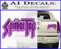Spinal Tap Band Decal Sticker Purple Vinyl 120x97