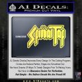 Spinal Tap Band Decal Sticker Yellow Vinyl 120x120