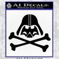 Supreme Overlord Crossbones D1 Black Vinyl Logo Emblem 120x120