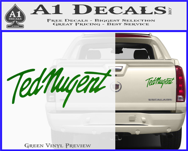 TED Red Misc Automotive Decal//Bumper Sticker