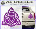 Trinity Knot Triquetra D2 Decal Sticker Purple Vinyl 120x97