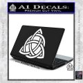Trinity Knot Triquetra D2 Decal Sticker White Vinyl Laptop 120x120