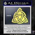 Trinity Knot Triquetra D2 Decal Sticker Yellow Vinyl 120x120