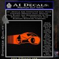 Tron Lightcycle Decal Decal Sticker Orange Vinyl Emblem 120x120
