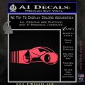 Tron Lightcycle Decal Decal Sticker Pink Vinyl Emblem 120x120