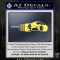 Tron Lightcycle Decal Decal Sticker Yellow Vinyl 120x120