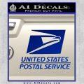 USPS Decal Sticker DST Blue Vinyl 120x120