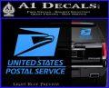 USPS Decal Sticker DST Light Blue Vinyl 120x97