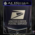 USPS Decal Sticker DST Silver Vinyl 120x120