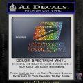USPS Decal Sticker DST Sparkle Glitter Vinyl Sparkle Glitter 120x120