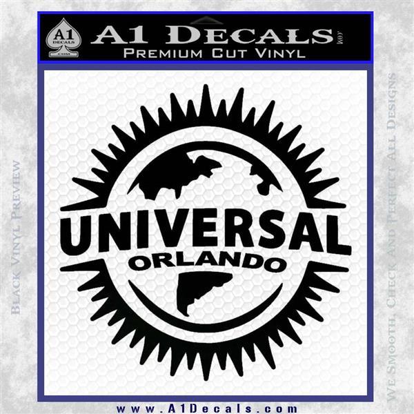 Universal Studios Orlando Decal Sticker Cr 187 A1 Decals