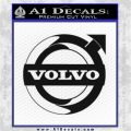 Volvo Decal Sticker INT D3 Black Vinyl Logo Emblem 120x120
