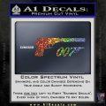 Walther PPK Gun Silencer 007 Decal Sticker Sparkle Glitter Vinyl Sparkle Glitter 120x120