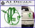 Welding Decal Sticker D3 Green Vinyl 120x97