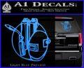 Welding Decal Sticker D3 Light Blue Vinyl 120x97