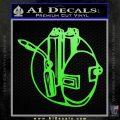 Welding Decal Sticker D3 Lime Green Vinyl 120x120