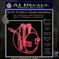 Welding Decal Sticker D3 Pink Vinyl Emblem 120x120