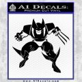 Wolfman D1 Decal Sticker Black Vinyl Logo Emblem 120x120