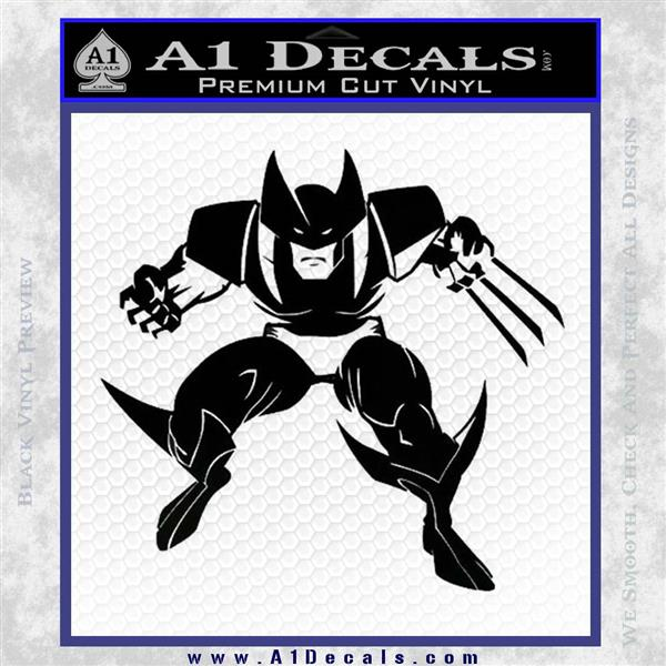 Wolfman Decal FREE US SHIPPING