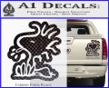 Woodstock Decal Sticker DO Tounge Decal Sticker Carbon Fiber Black 120x97