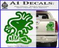 Woodstock Decal Sticker DO Tounge Decal Sticker Green Vinyl 120x97