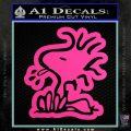 Woodstock Decal Sticker DO Tounge Decal Sticker Hot Pink Vinyl 120x120