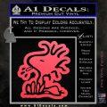 Woodstock Decal Sticker DO Tounge Decal Sticker Pink Vinyl Emblem 120x120