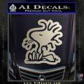 Woodstock Decal Sticker DO Tounge Decal Sticker Silver Vinyl 120x120