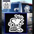 Woodstock Decal Sticker DO Tounge Decal Sticker White Vinyl Emblem 120x120