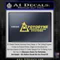 Yoyodyne Propulsion Systems Decal Sticker DW Yellow Vinyl 120x120