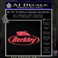 Berkley Fishing Decal Sticker Pink Vinyl Emblem 120x120