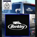 Berkley Fishing Decal Sticker White Vinyl Emblem 120x120