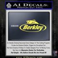 Berkley Fishing Decal Sticker Yellow Vinyl 120x120