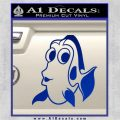 Dory Decal Sticker Finding Nemo Blue Vinyl 120x120