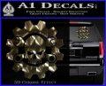 JDM Skull Wrench Gear Decal Sticker Logo Emblem 120x97