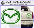Mazda 3D Decal Sticker Logo Green Vinyl 120x97