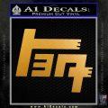 TEQ Toyota Decal Sticker TX Metallic Gold Vinyl 120x120