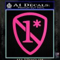 1 Ass To Risk Asterisk Decal Sticker V2 Hot Pink Vinyl 120x120