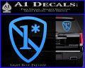 1 Ass To Risk Asterisk Decal Sticker V2 Light Blue Vinyl 120x97