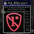 1 Ass To Risk Asterisk Decal Sticker V2 Pink Vinyl Emblem 120x120