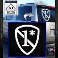 1 Ass To Risk Asterisk Decal Sticker V2 White Vinyl Emblem 120x120