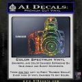 Camera Photography Decal Sticker INT Sparkle Glitter Vinyl Sparkle Glitter 120x120