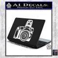 Camera Photography Decal Sticker INT White Vinyl Laptop 120x120