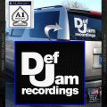 Def Jam Records Decal Sticker White Vinyl Emblem 120x120