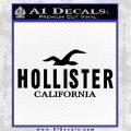 Hollister Decal Sticker California ST1 Black Vinyl Logo Emblem 120x120