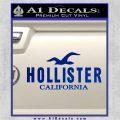 Hollister Decal Sticker California ST1 Blue Vinyl 120x120