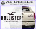 Hollister Decal Sticker California ST1 Carbon Fiber Black 120x97